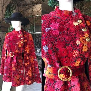 Jackets & Blazers - Vintage 1960's Tapestry Cape